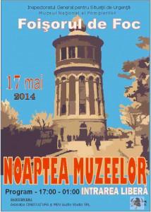 afis-Noaptea-Muzeelor-2014-Muzeul-National-al-Pompierilor